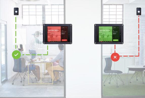 Smart Sensors Workscape Meeting Room Booking System